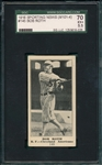 1916 M101-4 #145 Bob Roth, Sporting News, SGC 70