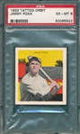 1933 Tattoo Orbit Jimmy Foxx PSA 6