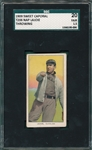 1909-1911 T206 Lajoie, Throwing, Sweet Caporal Cigarettes SGC 20 *Presents Better*