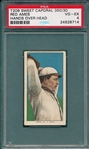 1909-1911 T206 Ames, Hands Above Head, Sweet Caporal Cigarettes PSA 4