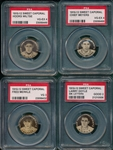 1910-12 P2 Sweet Caporal Pins Lot of (4) Giants PSA W/ Meyers