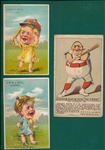 1880s Trade Cards Lot of (3)
