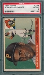 1955 Topps #164 Roberto Clemente PSA 2 *Rookie*