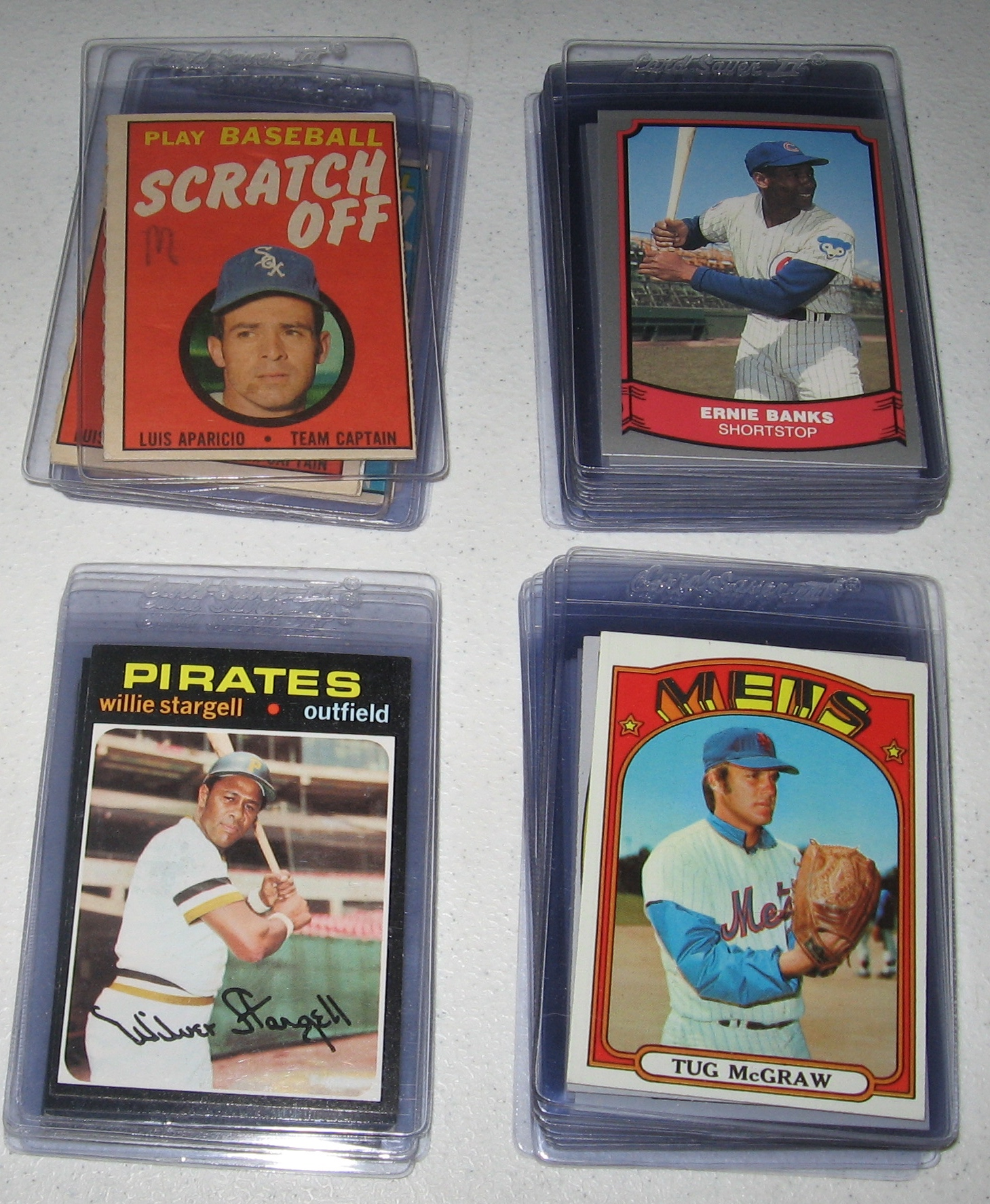 1955-89 Topps & Bowman Lot Of (77) W/ 65 Agee