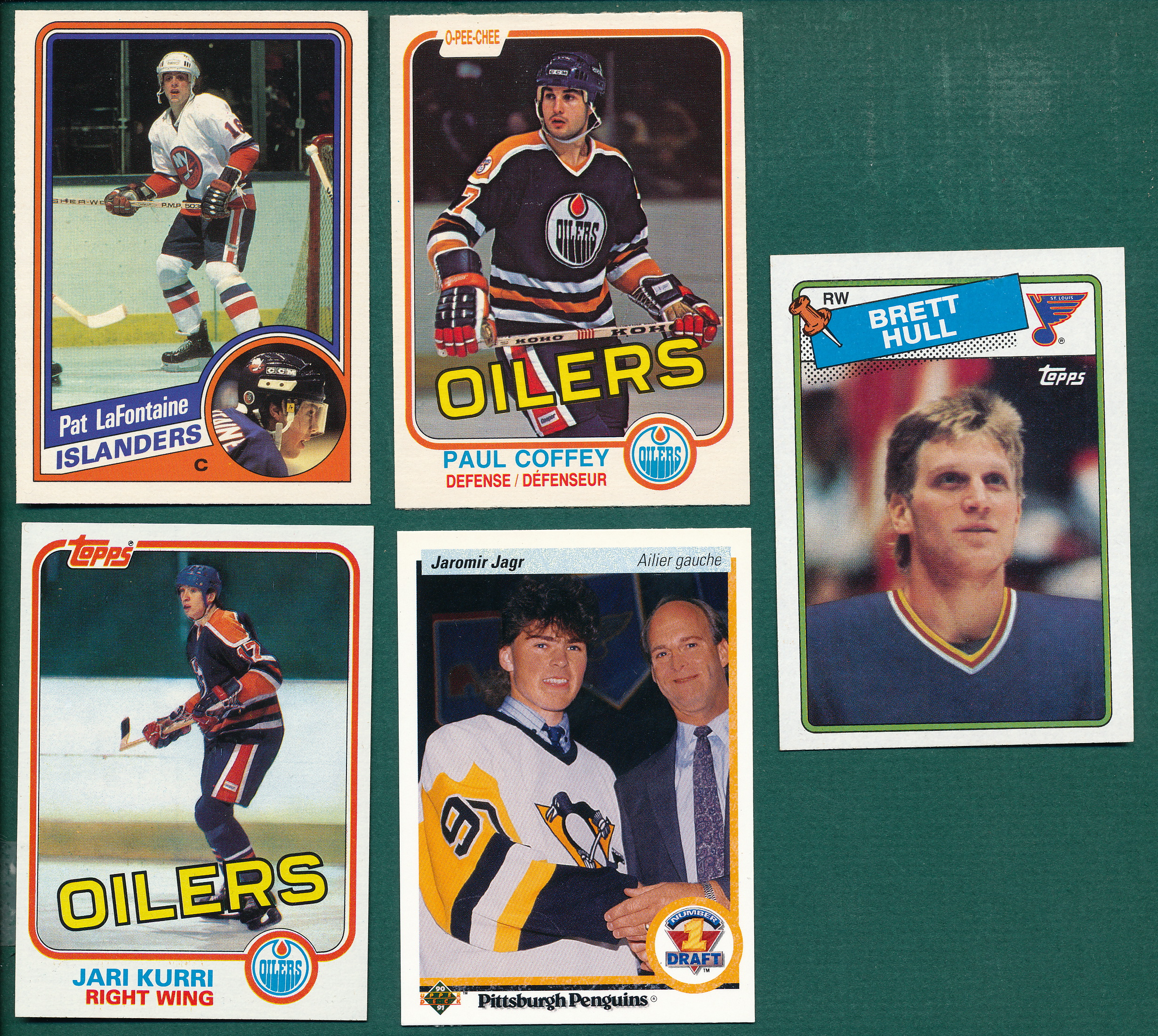 1981-91 Hockey Rookies Plus W/ Lafontaine