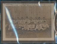 1902 Jersey City Skeeters Minor League Cabinet Photo BGS Authentic