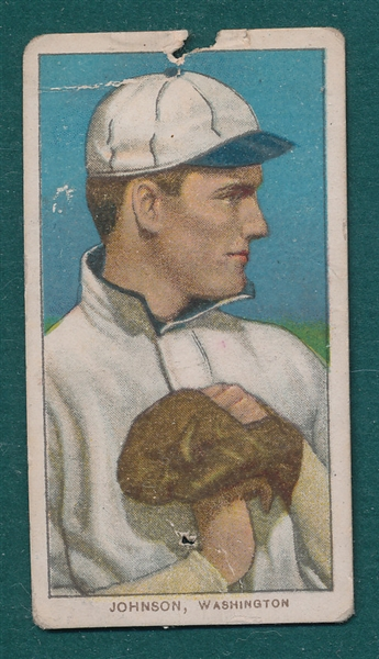 1909-1911 T206 Johnson, Pitching, Sweet Caporal Cigarettes