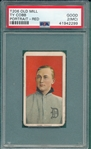 1909-1911 T206 Ty Cobb, Red Portrait, Old Mill Cigarettes PSA 2 (MC) *Name on Top & Bottom*