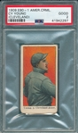 1909 E90-1 Cy Young, Cleveland, American Caramel Co. PSA 2