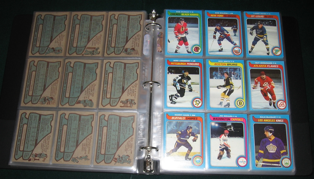 Lot Detail 1979 80 Topps Hockey Complete Set 264 W