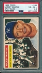 1956 Topps #135 Mickey Mantle PSA 4.5 *Gray*