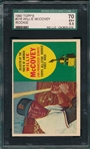 1960 Topps #316 Willie McCovey SGC 70 *Rookie*