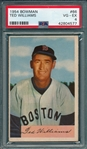 1954 Bowman #66 Ted Williams PSA 4 *SP*