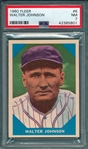 1960 Fleer #6 Walter Johnson PSA 7