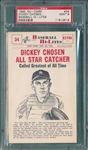 1960 Nu-Card #34 Dickey PSA 9 *MINT*