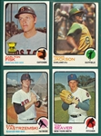1973 Topps Lot of (870) W/ Over 30 HOFers