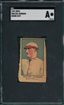 1921 W551 Walter Johnson SGC Authentic