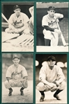 1970s George Brace Postcard Collection (35) Mostly HOFers W/ Gehringer & Greenberg