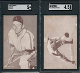 1947-66 Exhibits Reese & Kaline, Lot of (2) SGC