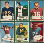 1953-54 Bowman Lot of (15) W/ Blanda, Rookie
