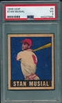 1948 Leaf Stan Musial PSA 3 *Rookie*