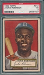 1952 Topps #321 Jackie Robinson PSA 3 *Centered*