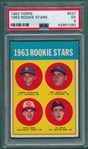 1963 Topps #537 Pete Rose PSA 5 *Rookie*